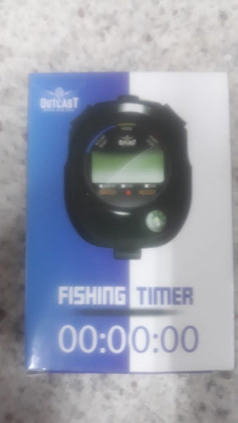 Outcast Digital Fishing Stopwatch