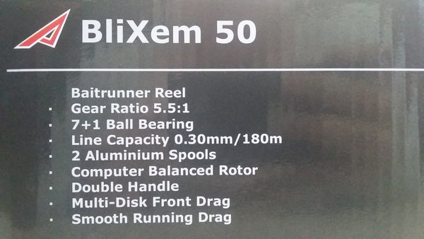 ADRENALIN BLIXEM 50 [7+1BB]