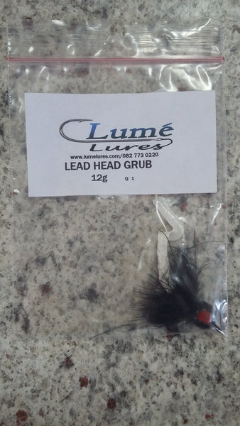 Lead Head Curl Tail Grub