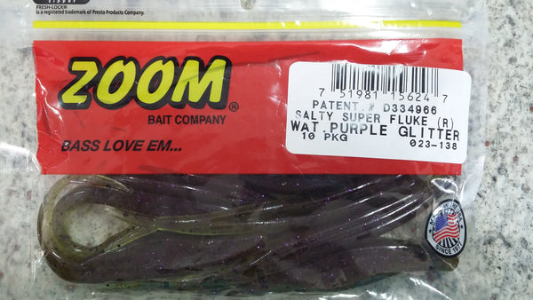 Zoom S-Fluke Watermelon Purple Glitter