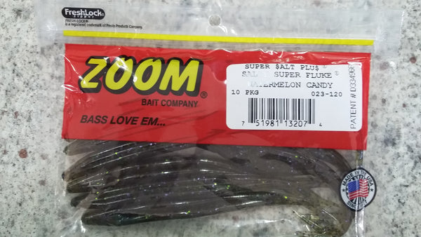 Zoom S-Fluke Watermelon Candy