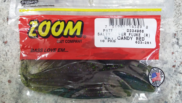 Zoom S-Fluke Watermelon Candy Red