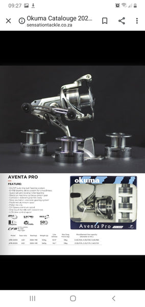 Copy of Okuma Aventa Pro Series 6000