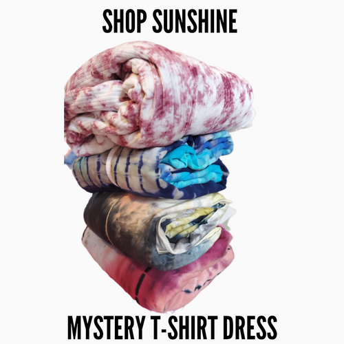 Shop Sunshine Mystery T-Shirt Dress (4 week TAT)