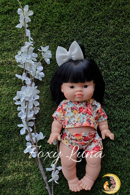 Floral Top and Bummies Set (Minikane Size)