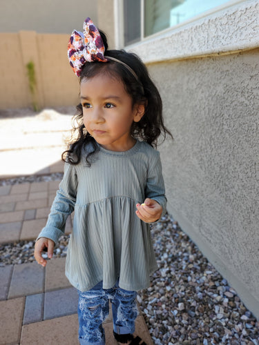 High Low Peplum - Child Size