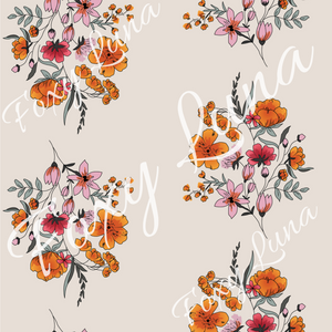 Floral Seamless Digital File