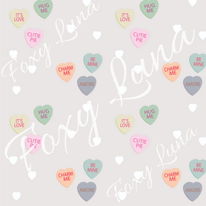 Candy Heart Seamless Digital File