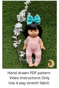 Minikane Doll Sewing Pattern (Romper)