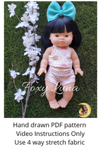 Load image into Gallery viewer, Minikane Doll Sewing Pattern (Bummies Only)