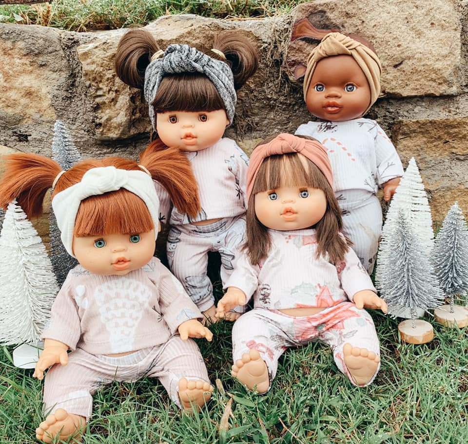 Minikane Doll Size Set (Includes top and bottoms)