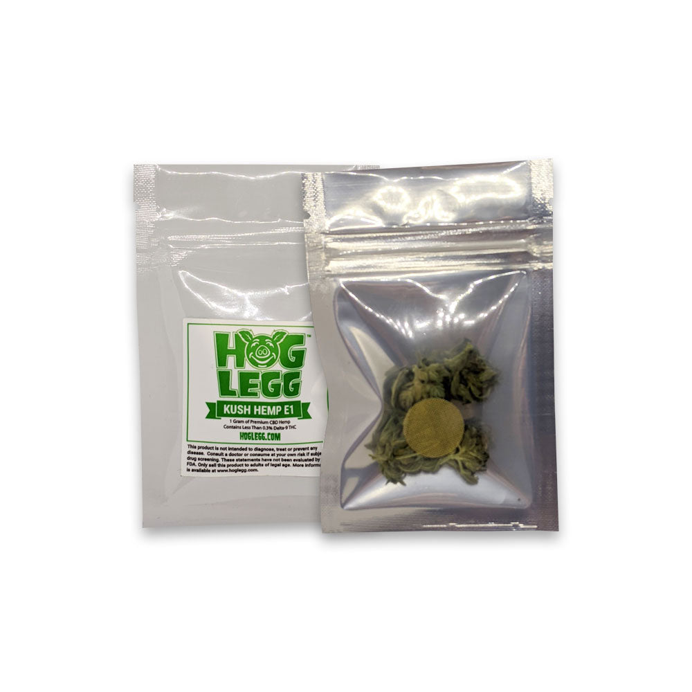 Kush Hemp E1 Flower 1 Gram