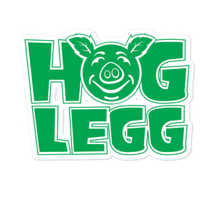 Hog Legg Bubble-free stickers