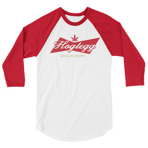 King of Spliffs 3/4 sleeve raglan shirt