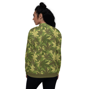 Hemp Camo Bomber Jacket