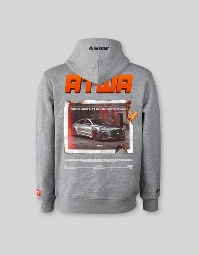 ATWA RS7-R HOODIE GREY - ATWA Clothing