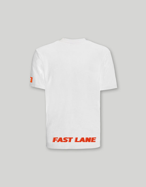ATWA FAST LANE WHITE SHIRT