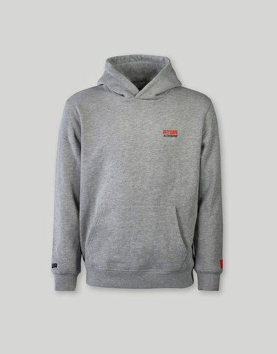ATWA HOODIE LOGO SERIES GREY - ATWA Clothing