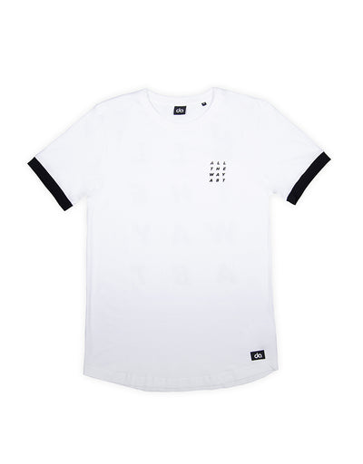 Square T-Shirt Weiß - Daniel Abt Shop