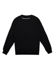 Square Sweater Schwarz - Daniel Abt Shop