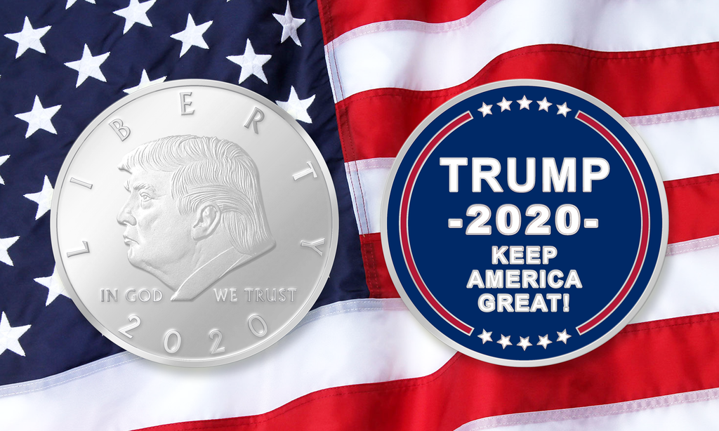 2020 Keep America Great Challenge Coin