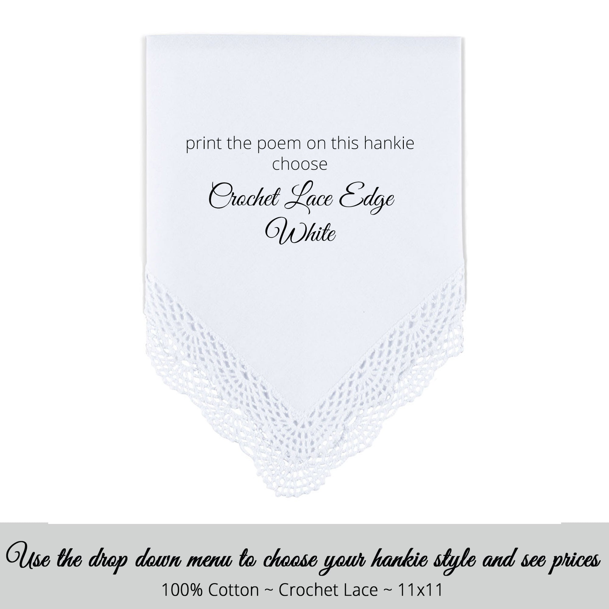 An Exquisite Embroidered Very Fine Linen Scalloped Edge Handkerchief \u2026  Perfect As A Wedding Hankie