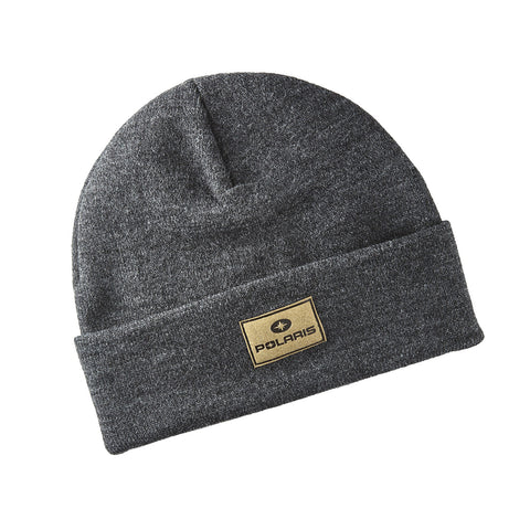 Polaris Men's Patch Beanie