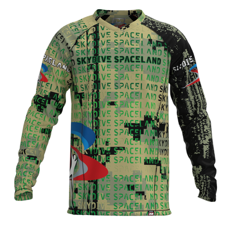 Skydive Spaceland Camo Jersey