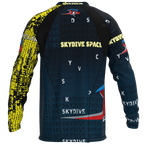 Skydive Spaceland Black & Yellow Jersey
