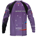 Skydive Spaceland Purple Jersey