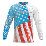 Skydive Spaceland USA Flag Jersey