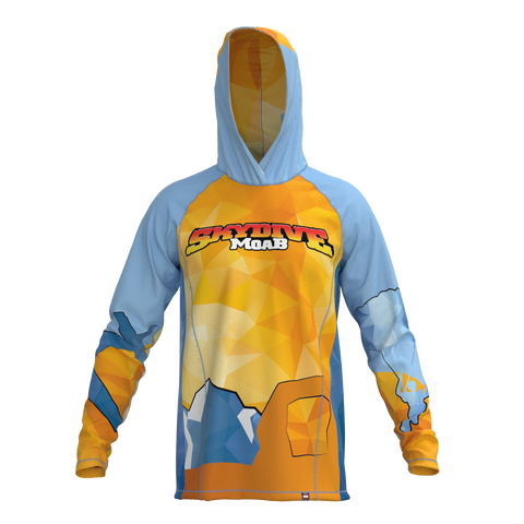 Skydive Moab Hooded Jersey