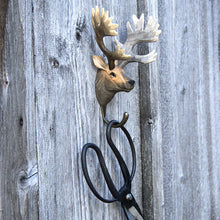 Load image into Gallery viewer, Hand Carved Red Deer Hook