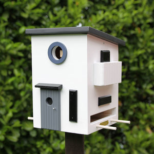 Multiholk - Funkis House Bird Feeder Bird House