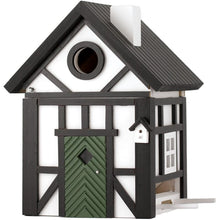 Load image into Gallery viewer, Multiholk - Half Timber Cottage Bird Feeder Bird House