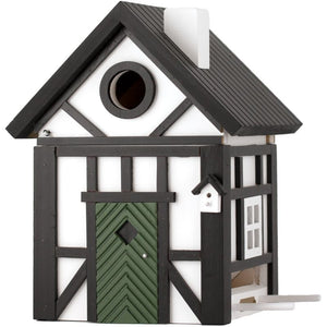 Multiholk - Half Timber Cottage Bird Feeder Bird House