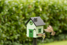 Load image into Gallery viewer, Multiholk - Pale Green Cottage Bird Feeder Bird House