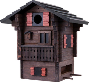 Multiholk - Mountain Cottage Bird Feeder Bird House