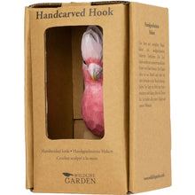 Load image into Gallery viewer, Hand Carved Galah Hook