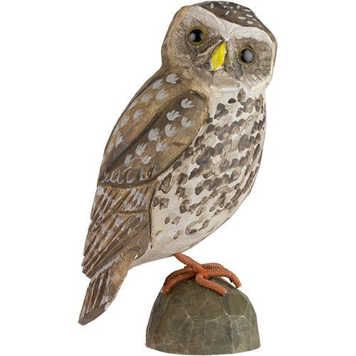 Hand Carved DecoBird Little Owl
