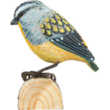 Load image into Gallery viewer, Hand Carved DecoBird Spotted Pardalote