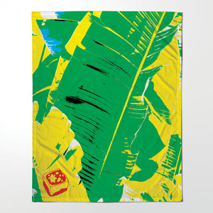 Table Cloth - Banana Leaf