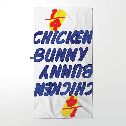 Dish Cloth - 1/4 Chicken Bunny