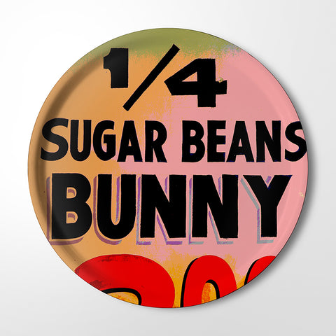 Serving Tray - 1/4 Sugar Beans Bunny