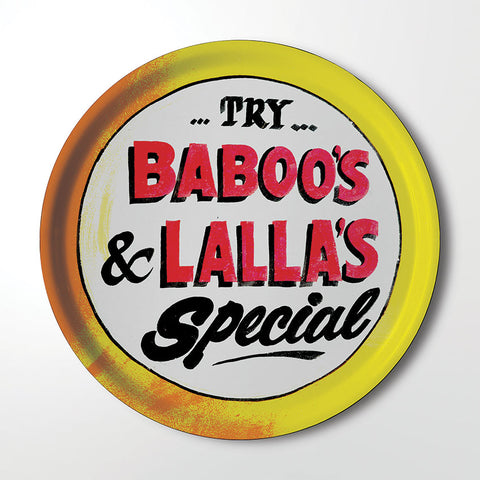 Serving Tray - Baboo's & Lalla's
