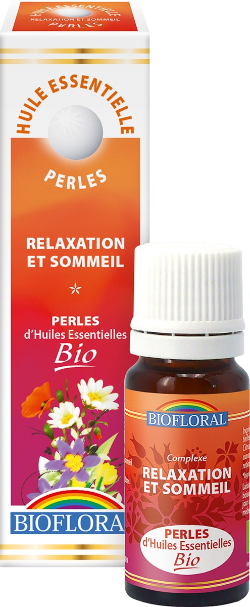 Perles d'Huiles Essentielles Bio RELAXATION SOMMEIL
