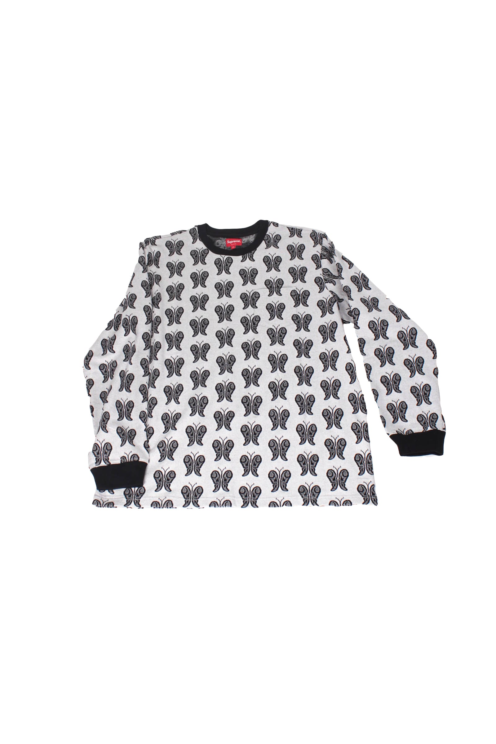 Supreme Butterfly jacquard top Size XL