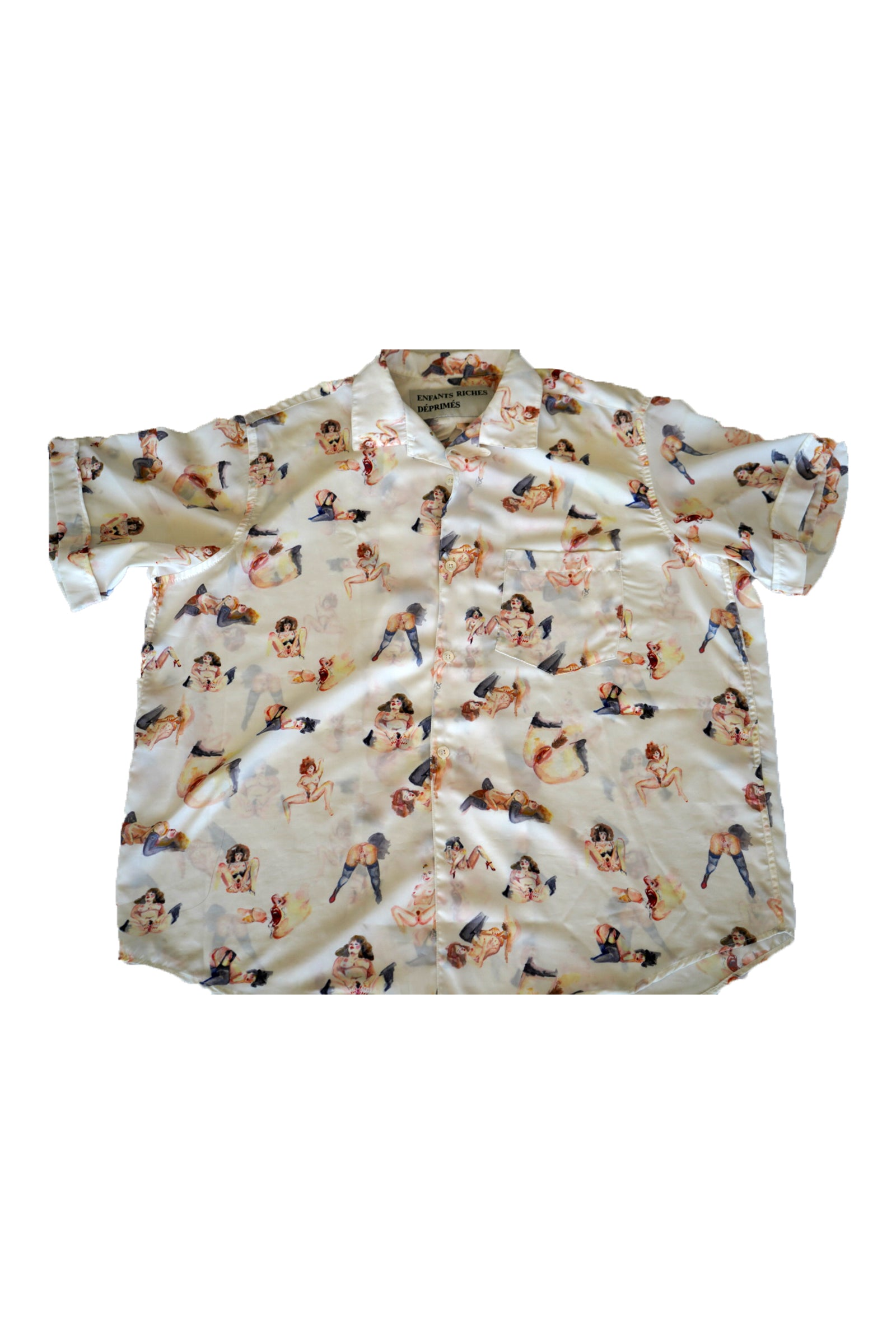 Enfanta Riches Exotic Deprime Button-Up Size XL