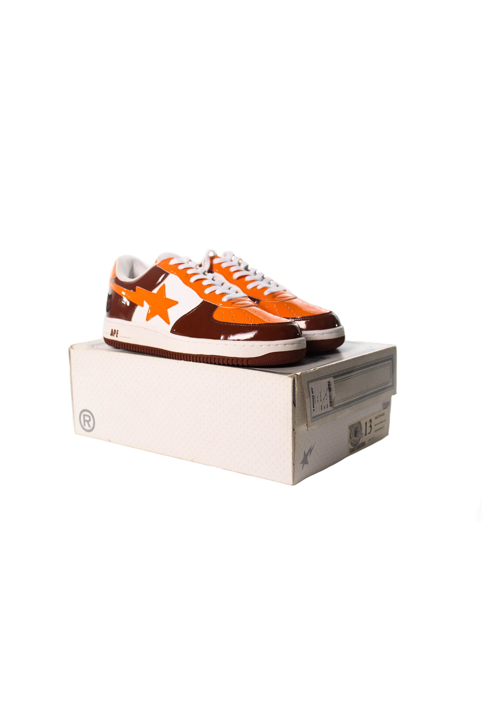 Bathing Ape Orange and Brown
