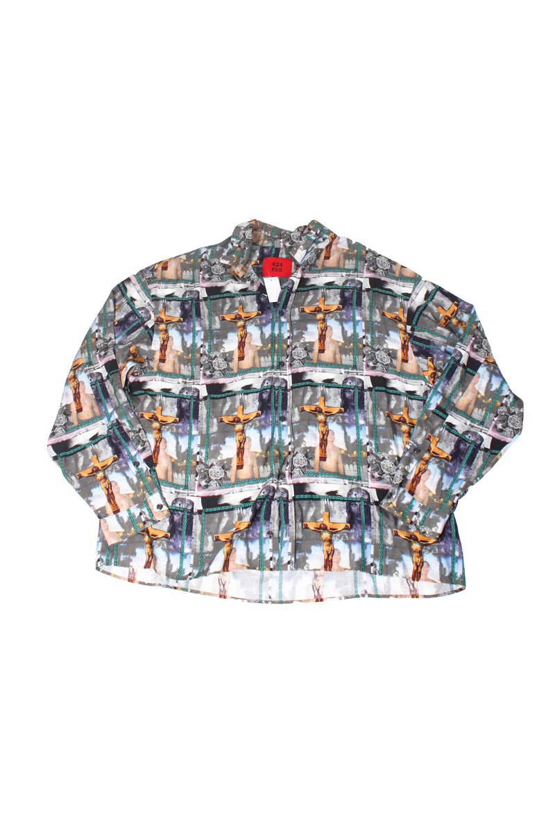 424 Button Up